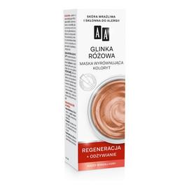 Color detox glinka różowa maska wyrównująca koloryt do każdego rodzaju cery