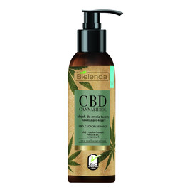 Cannabidiol olejek do mycia twarzy z CBD z konopi siewnych do cery suchej i wrażliwej