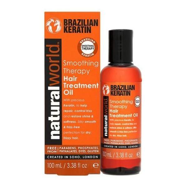 Natural World Brazilian Keratin Olejek do włosów z keratyną 100ml