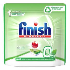 Zero tabletki do mycia naczyń w zmywarkach 40szt