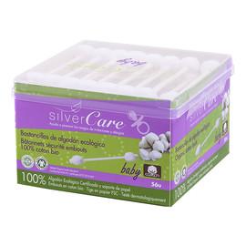 Patyczki higieniczne do uszu z 100% organicznej bawełny dla niemowląt i dzieci 56szt