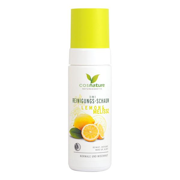 Cosnature Naturalna Pianka Oczyszczająca 3 w 1 Z Cytryną i Melisą 150ml