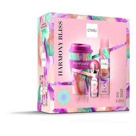 Zestaw prezentowy Harmony Bliss Dezodorant spray 150 ml + kubek + woda toaletowa