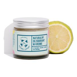 Naturalny, Cytrusowo-Ziołowy Dezodorant w Kremie