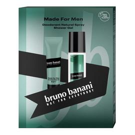 Zestaw prezentowy Made For Men żel pod prysznic 50 ml + deo naturalny spray