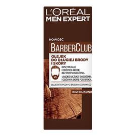 Barber Club pielęgnujący olejek do brody i skóry twarzy