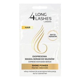 Hair Shine Power ekspresowa maska-serum do włosów farbowanych 2 x6ml