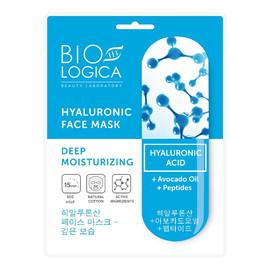 """Maska do twarzy w płachcie """"Głębokie nawilżenie"""" z kwasem hialuronowym"""