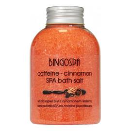 Sól do kąpieli SPA cynamon kofeina