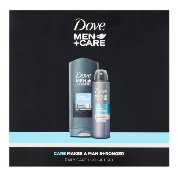 Dove Men+Care Clean Comfort Zestaw kosmetyków