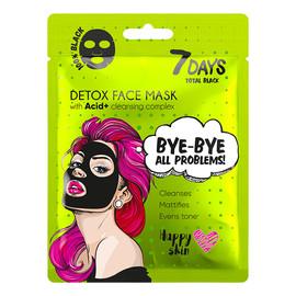 Detoks maska do twarzy BYE-BYE,ALL PROBLEMS z kompleksem oczyszczającym,