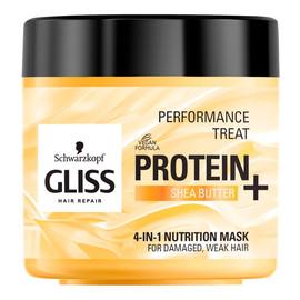 maska odżywcza do włosów Protein + Shea Butter