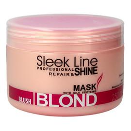Mask Repair & Shine Blush Blond Maska Do Włosów Blond Z Jedwabiem