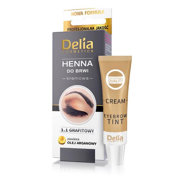 Delia Henna Henna W Kremie Do Brwi Grafitowa 11 Wizaż24
