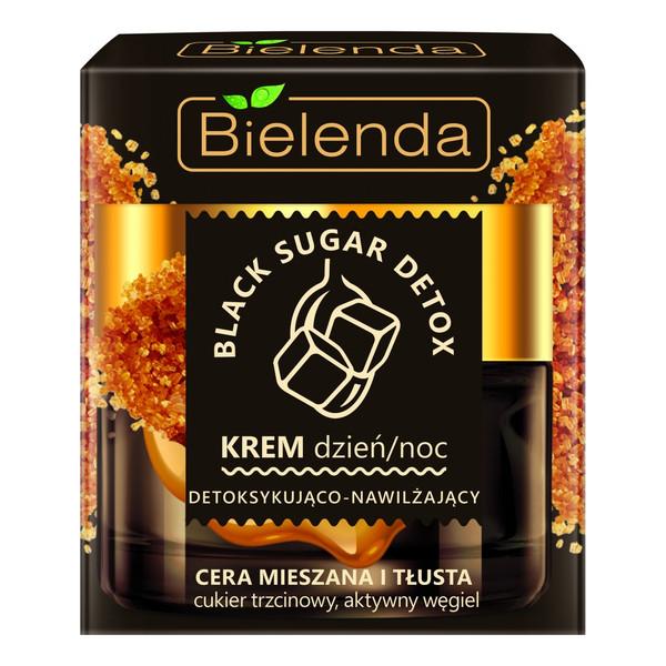 Bielenda Black Sugar Detox detoksykująco – nawilżający krem na dzień i na noc 50ml