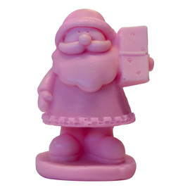 Różowy Mały Św. Mikołaj naturalne mydło glicerynowe Wiśnia