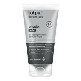Physio Carbo Żel-peeling micelarny do mycia twarzy