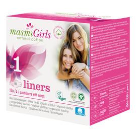 Girls wkładki higieniczne 100% bawełny organicznej 12 szt