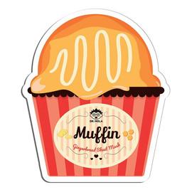 Gingerbread Muffin Sheet Mask oczyszczająco-nawilżająca maseczka w płachcie