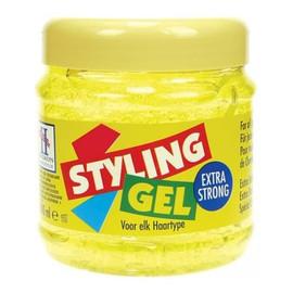 Żel do modelowania włosów extra strong żółty - TENEX