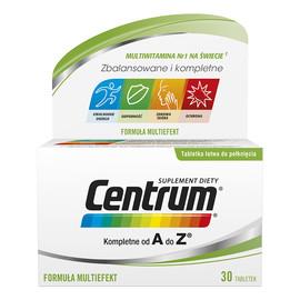 Zestaw witamin i minerałów suplement diety 30 tabletek