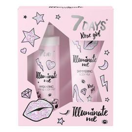 Zestaw mleczko do ciała 150ml + perfumowana mgiełka do ciała i włosów 180ml