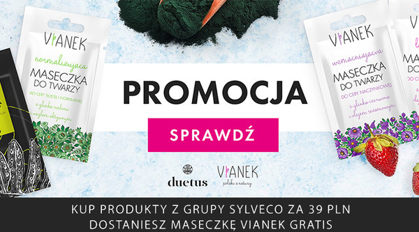 Zakupy producenta Sylveco za 39zł | kod: SYLVECO | maska gratis