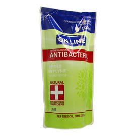 Mydło w płynie Antybakteryjne Lime uzupełnienie