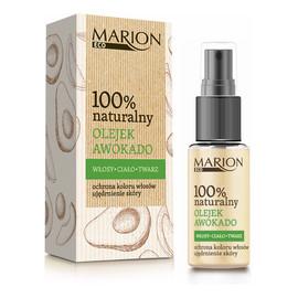 100% Naturalny olejek awokado do twarzy ciała i włosów
