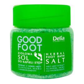 Ziołowa Sól Do Kąpieli Stóp