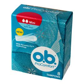 mini komfortowe tampony higieniczne 1 op.- 8 sztuk