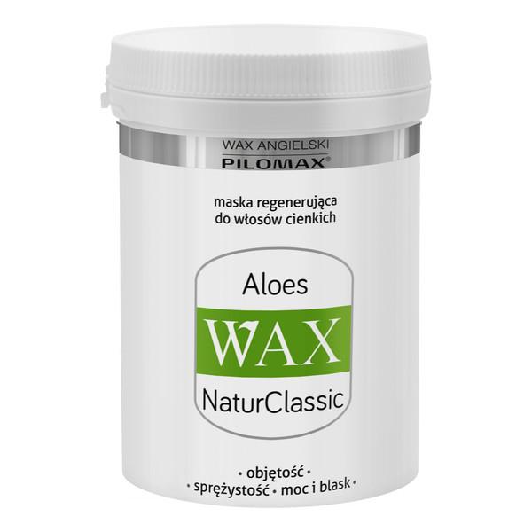 Pilomax Wax Natur Classic Aloes Maska Regenerująca Do Włosów Cienkich 240ml