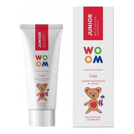 Junior naturalna pasta do zębów dla dzieci 6+ lat cola