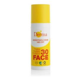 Ansigtssolcreme SPF30 krem przeciwsłoneczny do twarzy