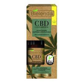 Cannabidiol serum booster nawilżająco-detoksykujące z CBD z konopi siewnych do cery mieszanej i tłustej