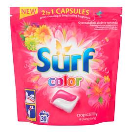 Kapsułki do prania do koloru Tropical Lily & Ylang Ylang 30szt