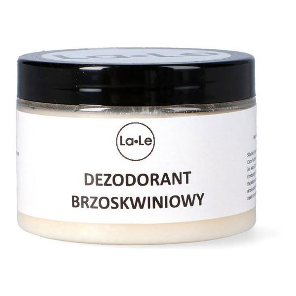 La-Le Dezodorant ekologiczny w kremie z olejkiem brzoskwiniowym 120ml