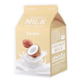 Coconut Milk One-Pack Moisturizing Kokosowa Nawilżająca Maseczka W Płachcie