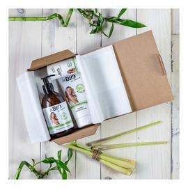 Zestaw Bambus i trawa cytrynowa żel pod prysznic 400ml + balsam do ciała 200ml + dezodorant w kulce