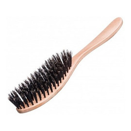 Szczotka do włosów z naturalnej szczeciny dzika