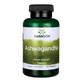 Ashwagandha suplement diety 100 kapsułek