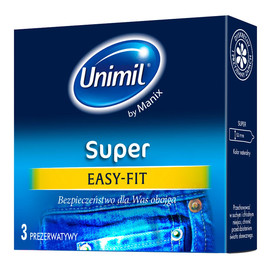 Easy-fit lateksowe prezerwatywy 3szt