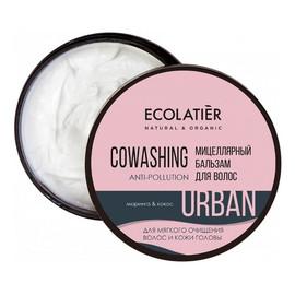 Micelarna oczyszczająca odżywka do włosów Moringa i kokos