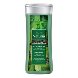 Szampon Do Włosów z Pokrzywą i Zieloną Herbatą