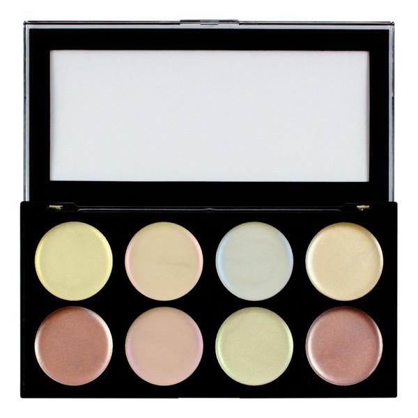 Makeup Revolution Ultra strobe balm Palette rozświetlacze do twarzy 12g