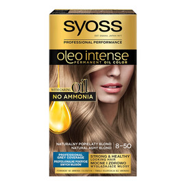 Oleo intense farba do włosów trwale koloryzująca z olejkami 8-50 naturalny popielaty blond