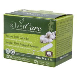 Organiczne bawełniane tampony Super bez aplikatora 100% bawełny organicznej 18szt