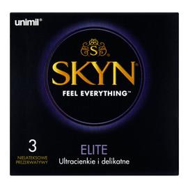 Elite Nielateksowe prezerwatywy