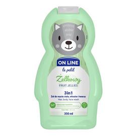 Le Petit Żel do mycia ciała,włosów i twarzy 3w1 dla dzieci Żelkowy