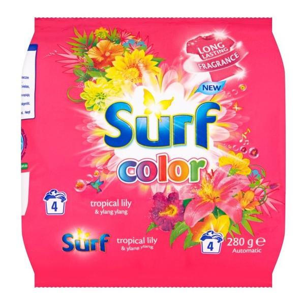 Surf Color Tropikalna Lilia & Ylang Ylang Proszek do prania (4 prania) 280g